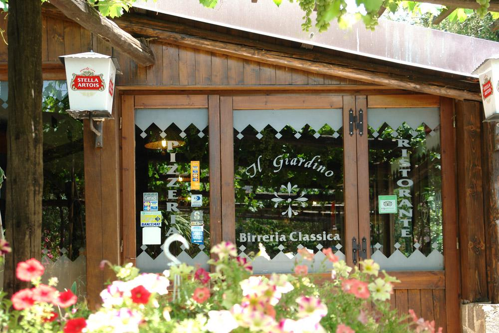 Welcome to the Restaurant Pizzeria Il Giardino